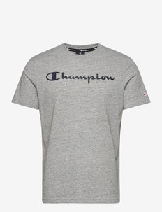 Crewneck T-Shirt - sportoberteile - new oxford grey melange