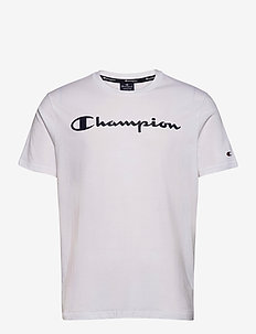 Crewneck T-Shirt - sportoberteile - white
