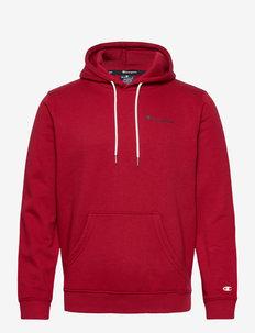 Hooded Sweatshirt - basic sweatshirts - rio red