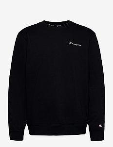 Crewneck Sweatshirt - basic sweatshirts - black beauty
