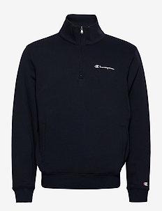 Half Zip Sweatshirt - basic sweatshirts - sky captain