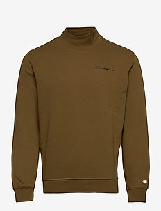 Mock Turtle Neck Long Sleeves T-Shirt - hauts à manches longues - military olive