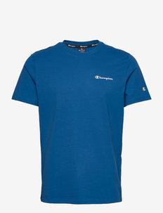 Crewneck T-Shirt - tops - baleine blue