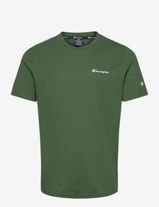 Crewneck T-Shirt - sportoberteile - greener pastures