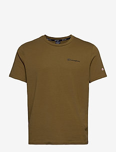 Crewneck T-Shirt - sportoberteile - military olive