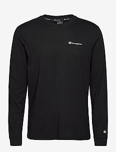 Long Sleeve Crewneck T-Shirt - bluzki z długim rękawem - black beauty