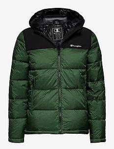 Hooded Jacket - trainingsjacken - greener pastures