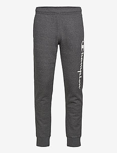 Rib Cuff Pants - hosen - gray melange dark