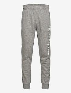 Rib Cuff Pants - bukser - gray melange light