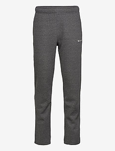 Straight Hem Pants - trainingsbroek - gray melange dark