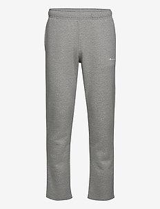 Straight Hem Pants - bukser - gray melange light