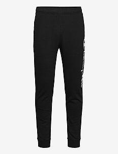 Rib Cuff Pants - treenihousut - black beauty