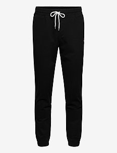 Elastic Cuff Pants - treenihousut - black beauty