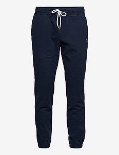 Elastic Cuff Pants - hosen - navy blazer