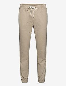 Elastic Cuff Pants - hosen - overcast