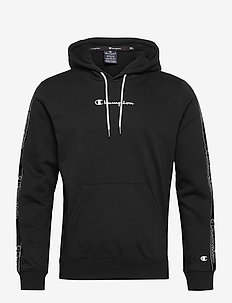 Hooded Sweatshirt - basic sweatshirts - black beauty