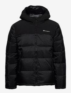 Hooded Jacket - sports jackets - black beauty