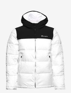 Hooded Jacket - veste sport - white