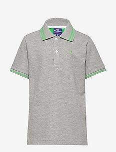 Polo - logo - oxford grey