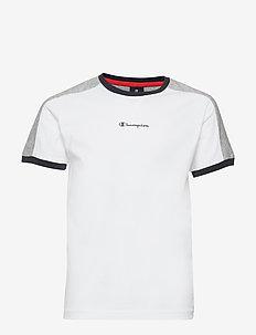 Ringer T-Shirt - WHITE