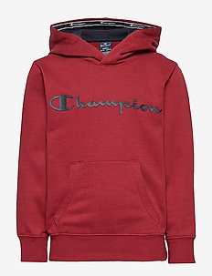 Hooded Sweatshirt - BIKING RED