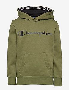 Hooded Sweatshirt - WINTER MOSS