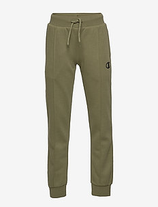 Rib Cuff Pants - WINTER MOSS