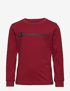 Crewneck Long Sleeve T-Shirt - BIKING RED
