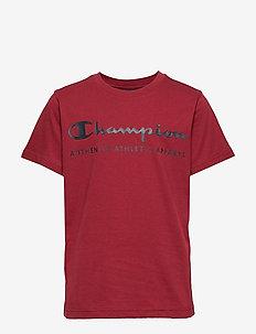 Crewneck T-Shirt - kurzärmelige - biking red