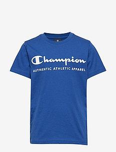 Crewneck T-Shirt - kurzärmelige - mazarine blue