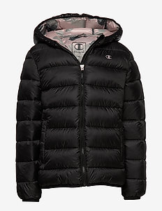 Hooded Jacket - BLACK BEAUTY A