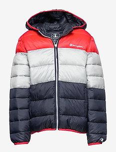 Hooded Jacket - daunen- und steppjacken - flame scarlet