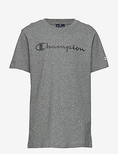 Crewneck T-Shirt - short-sleeved - graphite grey melange jasp