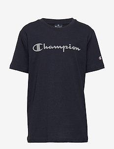 Crewneck T-Shirt - short-sleeved - sky captain