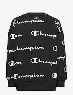 Crewneck Sweatshirt - sweatshirts - black beauty  al