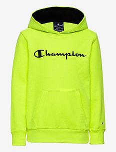 Hooded Sweatshirt - hoodies - safety yellow fluo tp (syff)