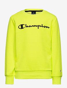 Crewneck Sweatshirt - sweat-shirt - safety yellow fluo tp (syff)