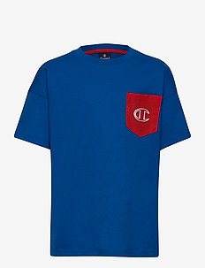 Crewneck T-Shirt - À manches courtes - nautical blue