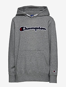 Hooded Sweatshirt - GRAPHITE GREY MELANGE JASP