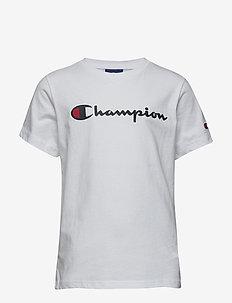 Crewneck T-Shirt - WHITE