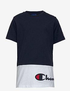 Crewneck T-Shirt - short-sleeved - navy blazer