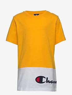 Crewneck T-Shirt - short-sleeved - spectra yellow