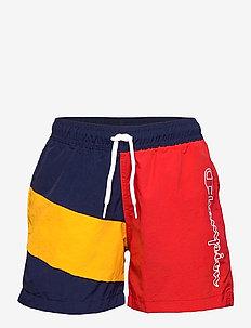 Beachshort - swimshorts - medieval blue