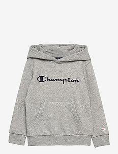 Hooded Sweatshirt - hoodies - gray melange light