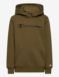 Hooded Sweatshirt - kapuzenpullover - military olive