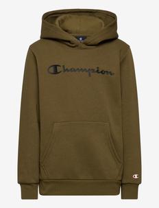 Hooded Sweatshirt - bluzy z kapturem - military olive