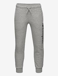 Rib Cuff Pants - jogginghosen - gray melange light