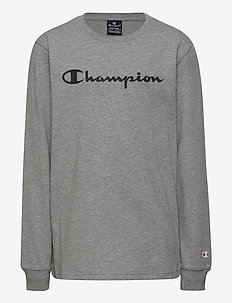 Long Sleeve T-Shirt - sweatshirts - gray melange light