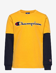 Long Sleeve Crewneck T-Shirt - langärmelige - old gold