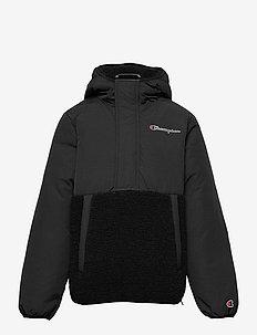 Hooded Jacket - fleece jacket - black beauty
